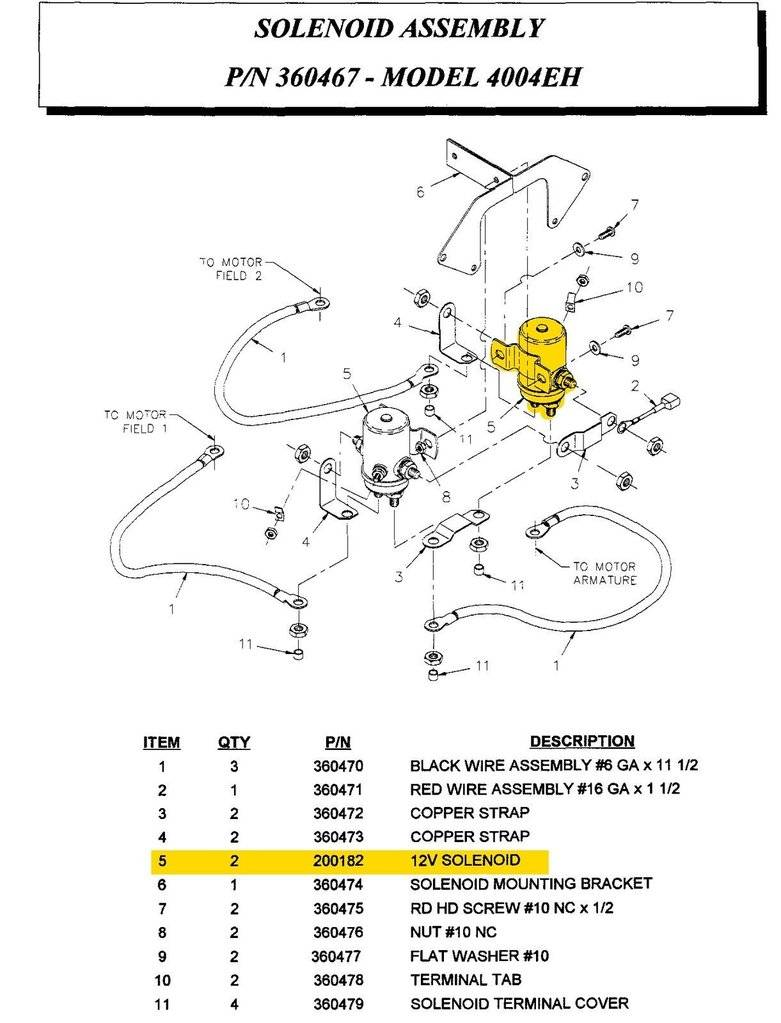Wiring Diagram Solenoids Auto Crane Automotive Goodall Start All 12v Relay Sealed Auto200182000 200182000 Rh Titantruck Com Ignition 3203